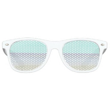 Beach Themed Watercolor Beach Sunglasses