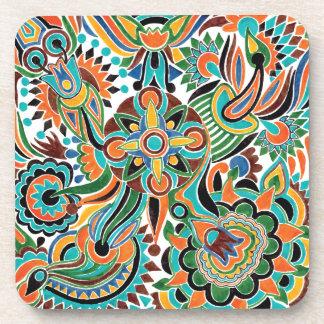 Watercolor Beverage Coaster
