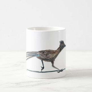 Watercolor bird mug: Roadrunner Coffee Mug