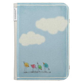 Watercolor Birds Kindle 3 Cover