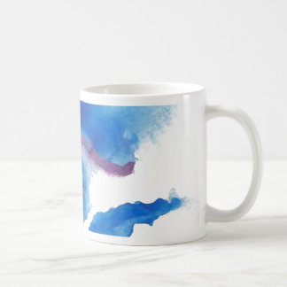 Watercolor Blue Eye CricketDiane Art Coffee Mug