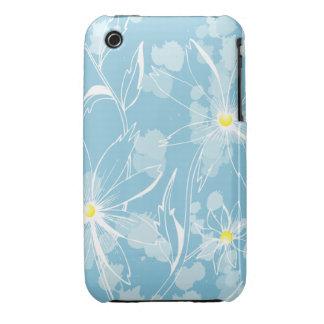 Watercolor Blue Floral iPhone 3gs Case