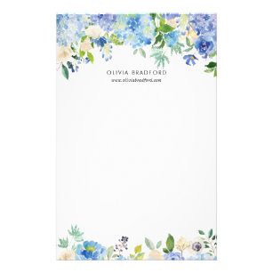 Hydrangea Stationery Zazzle