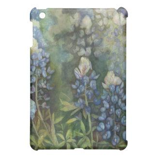 Watercolor Bluebonnets iPad Mini Covers