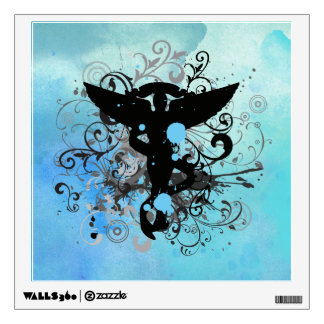 Watercolor {blues} Chiropractic Wall Decal
