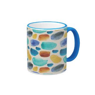 watercolor blurs coffee mugs