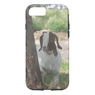 Watercolor Boer Goat iPhone 7 Case