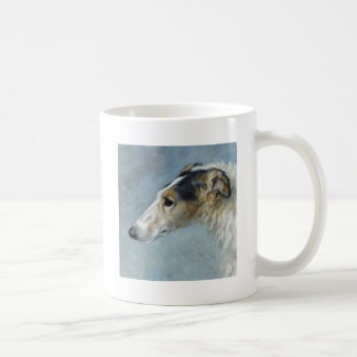 Watercolor Borzoi Coffee Mug