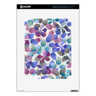 watercolor Botanical garden II iPad 3 Skins