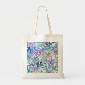 watercolor Botanical garden Tote Bag
