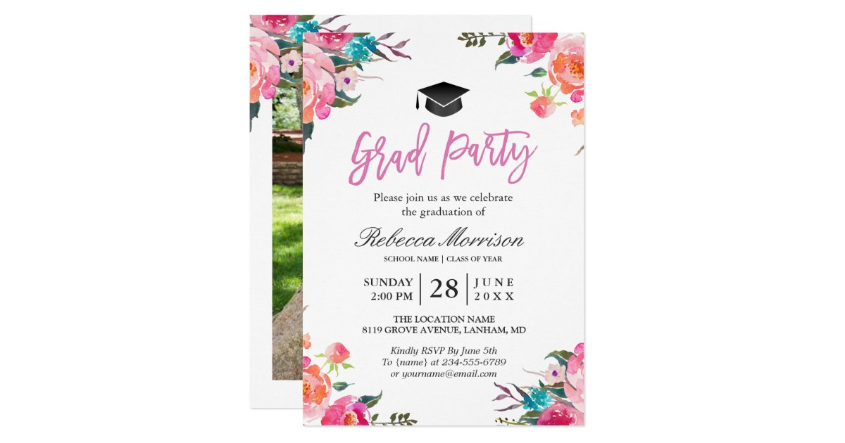 Party Invitations Announcements – Card Party Invitation