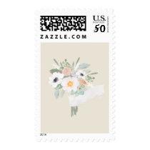 Watercolor Bouquet Bridal Shower Stamp