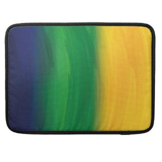 Watercolor Brazil Design MacBook Pro Sleeve