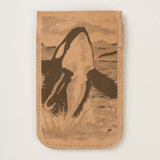 Watercolor Breaching Orca Whale iPhone 6/6S Case