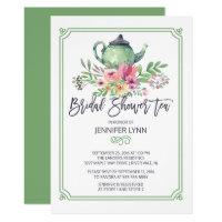 Bridal Tea Invitations Zazzle