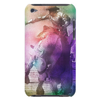 Watercolor Bronc Rider Barely There iPod Cover