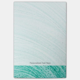watercolor brush curved line texture post-it notes