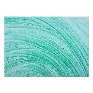 watercolor brush curved line texture poster