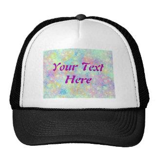 Watercolor Bubbles Trucker Hats