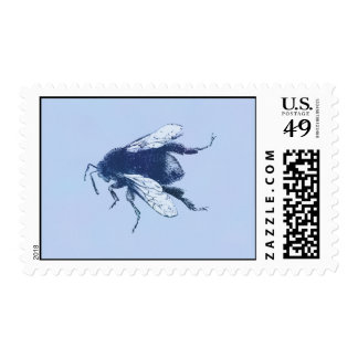 Watercolor Bumble Bee Postage