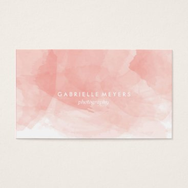 blush_printables Watercolor Business Card