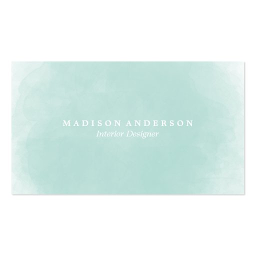 Watercolor business cards zazzle for Zazzle business card