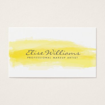 Professional Business Watercolor Business Cards