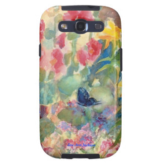 Watercolor Butterfly Galaxy SIII Cases