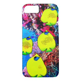 Watercolor Butterfly Fish iPhone 7 Case