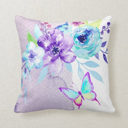 Lavender Flower Throw Pillow : Home Decor: Using Lavender Throw Pillows - XpressionPortal