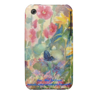 Watercolor Butterfly iPhone 3 Case-Mate Cases