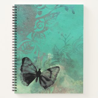 Watercolor Butterfly Notebook