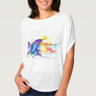 Watercolor Butterfly Original Painter's Design T-Shirt