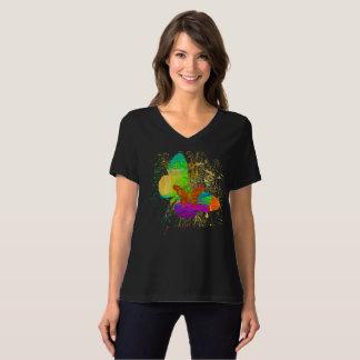 Watercolor Butterfly Women T-Shirt