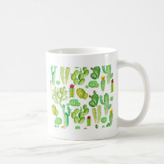 Watercolor Cacti Coffee Mug