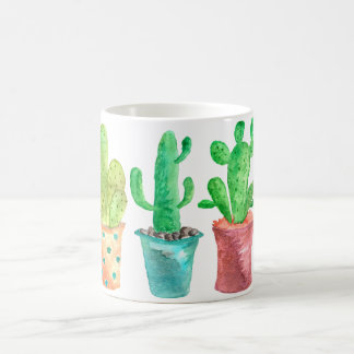 Watercolor Cactus Coffee Mug