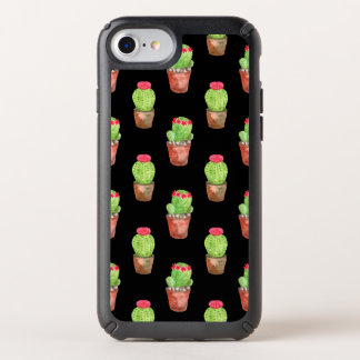 Watercolor Cactus Pattern Speck iPhone Case