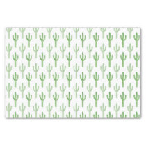 Watercolor Cactus Pattern Tissue Paper
