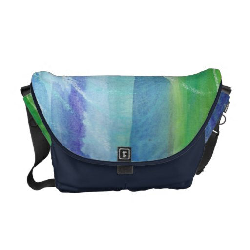 Watercolor Calm Messenger Bag