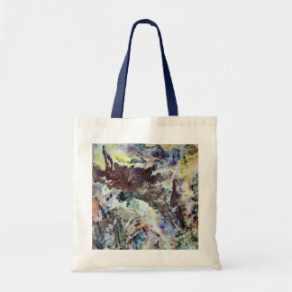 Watercolor Canvas Tote Bag