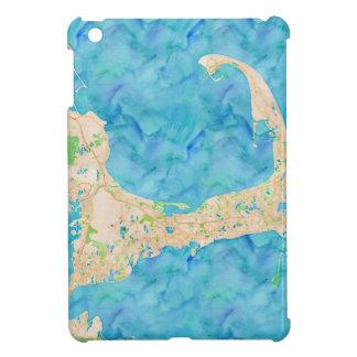 Watercolor Cape Cod Map iPad Mini Case