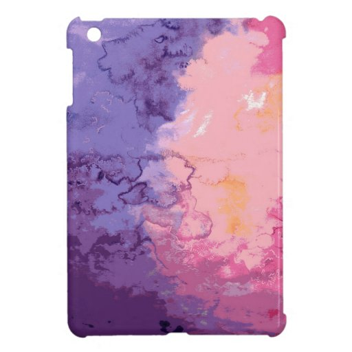 Watercolor Case for the iPad Mini