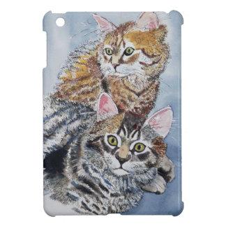 Watercolor Cats Resting iPad Mini Cover