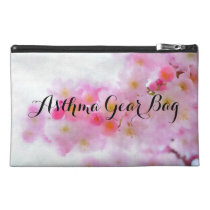 Watercolor Cherry Blossom Asthma Gear Bag