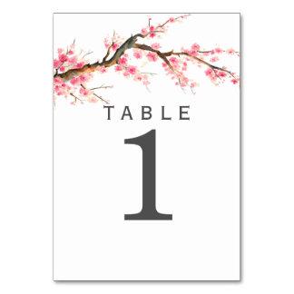 Watercolor Cherry Blossom Card