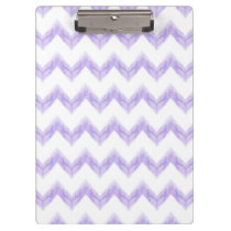watercolor chevron zigzag clipboard