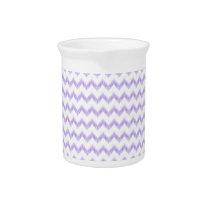 watercolor chevron zigzag drink pitcher