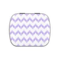 watercolor chevron zigzag jelly belly candy tins