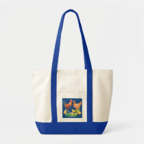Watercolor Chicken Family Bag
