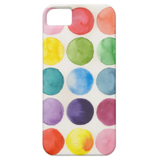 Watercolor circle chart phone case